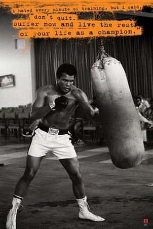 Don't Quit - Muhammad Ali