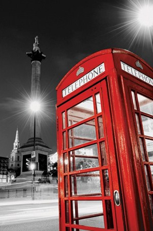 Night Calls In London - Iconic Telephone Box