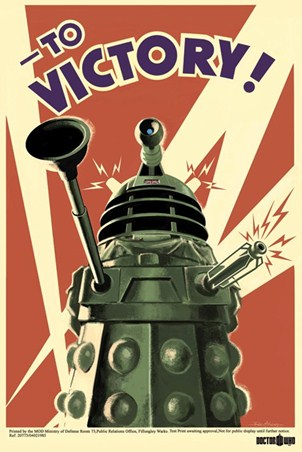 Dalek To Victory! - Doctor Who