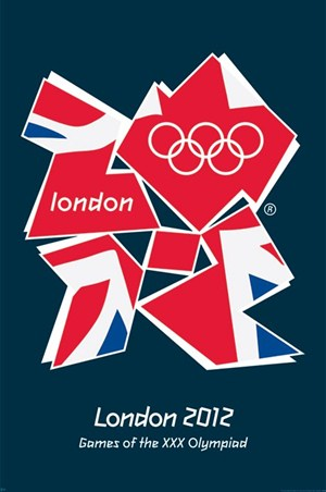 The Union Flag for the London 2012 Olympics - Games of The XXX Olympiad