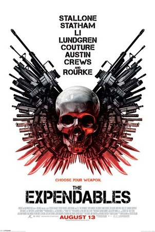 Choose Your Weapon - The Expendables