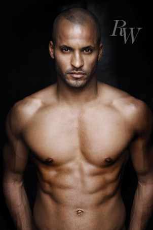 Framed Undressed to Thrill - Ricky Whittle