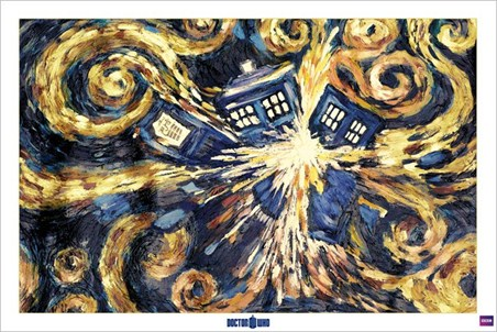 Framed Exploding Tardis - Doctor Who