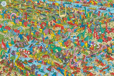 The Jurassic Games - Where's Wally