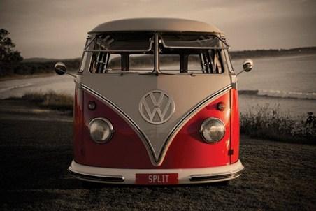 Split Screen Camper Van - Volkswagen