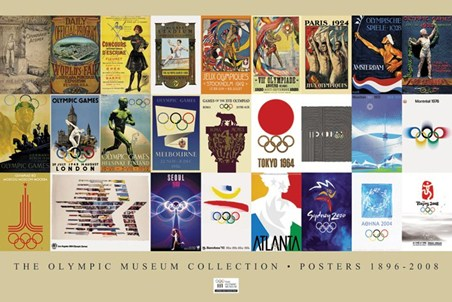The Olympic Museum Poster Collection 1896-2008 - The London Olympics 2012