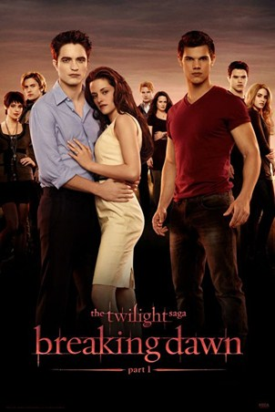 Bella, Edward and Jacob Re-United - Twilight: Breaking Dawn