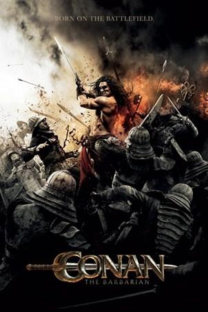 Framed Born on the Battlefield - Conan the Barbarian