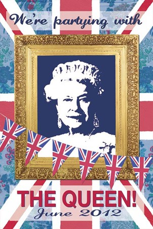 We're Partying with The Queen - Martin Wiscombe