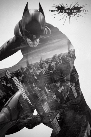 City Silhouette - Batman:The Dark Knight Rises