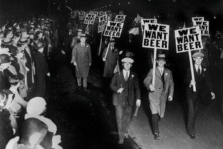 We Want Beer - 1931 Protest