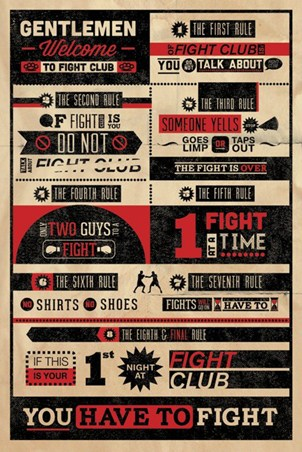 The First Rule of Fight Club..., Fight Club