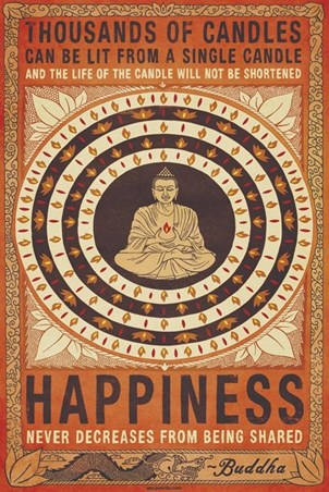 Happiness, Buddhist Values
