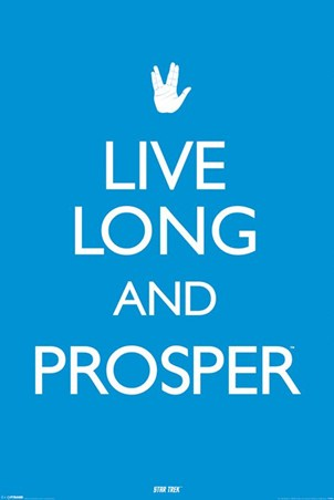 Live Long & Prosper - Star Trek