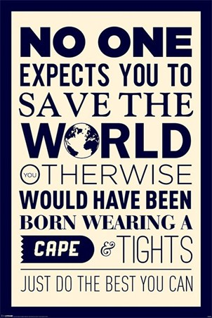 Save the World - Do Your Best