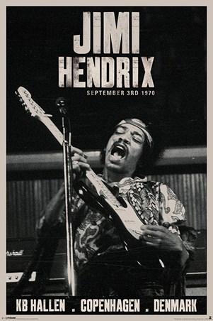 Live in Copenhagen, Jimi Hendrix