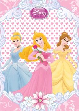 Belle, Sleeping Beauty and Cinderella, Disney Princess 3D ...