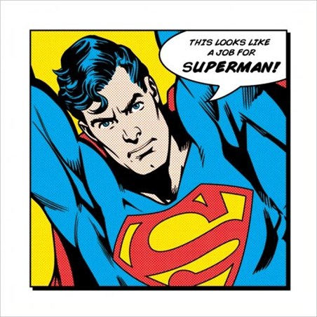 This Looks Like a Job For Superman! - DC Comics Superman