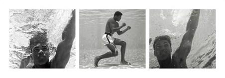 Underwater Triptych - Muhammad Ali