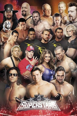 Superstars of the Ring - WWE