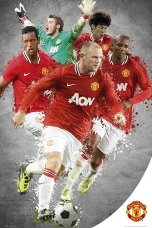 Top Team Players 2011/12 - Manchester United Football Club