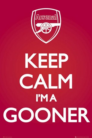 Keep Calm I'm A Gooner - Arsenal Football Club