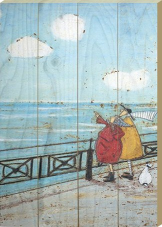Framed Her Favourite Cloud - Sam Toft