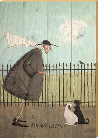 Framed Singing Lessons - Sam Toft
