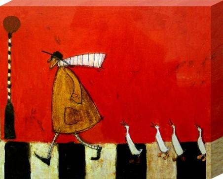 Framed Crossing with Ducks - Sam Toft