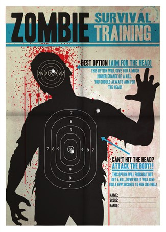 Aim for the Head! - Zombie Survival Training