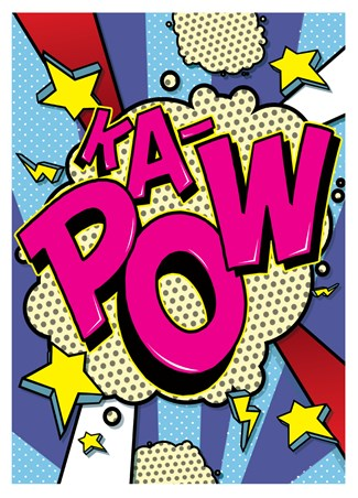 Ka-Pow! - Pop Art Burst!