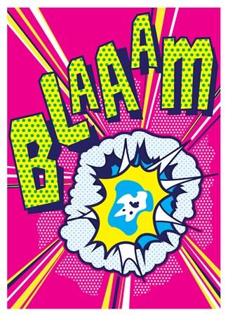 Blaaam! - Pop Art Shot!