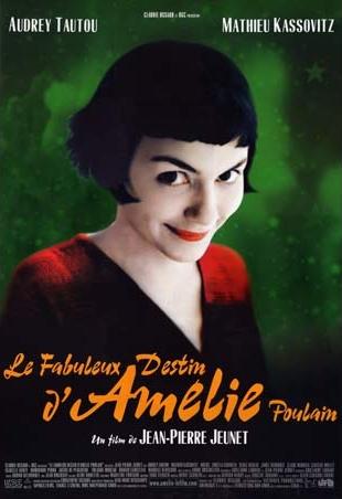 Amelie Poulin Poster - Fabuleux Destin d'Amelie Poulain (face)