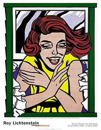 Girl At Window, By Roy Lichtenstein - PopArtUK