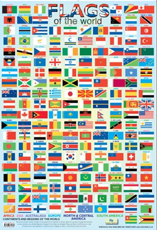 Fun With Flags Flags Of The World Poster Buy Online