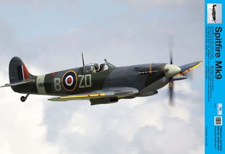Framed Spitfire - Learn The Ways of the Skies