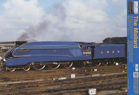 Framed Steaming Ahead Of The Competition - Mallard Train