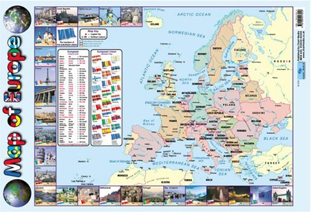 Map Of Europe - Educational Map