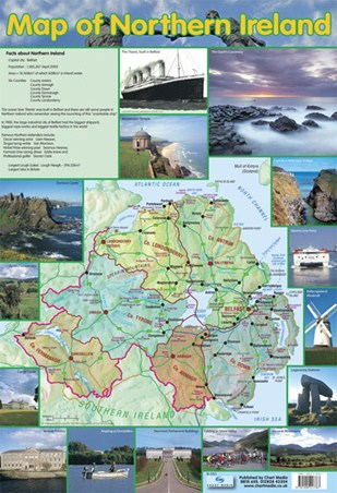 Map Of Northern Ireland - Travel Companion