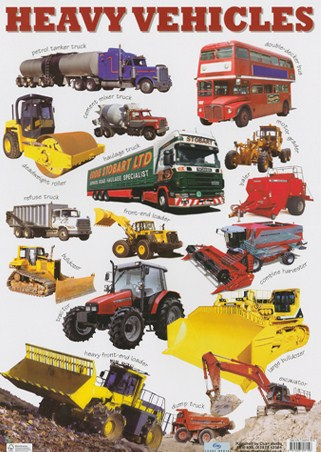 Heavy Vehicles - Images of Transportation