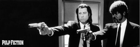 Vincent Vega and Jules Winnfield - Quentin Tarantino's Pulp Fiction