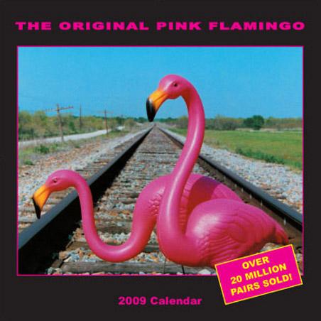The Original Pink Flamingo - Don Featherstone's Plastic Lawn Flamingo