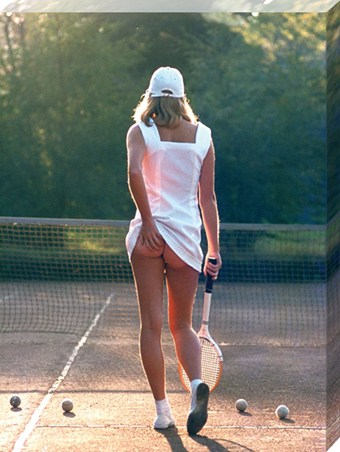 Tennis Girl - Martin Elliott