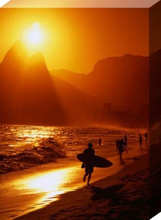 Sunset at Ipanema - Rio de Janeiro, Brazil