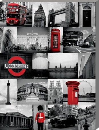 Highlights in Red - Iconic London Sights