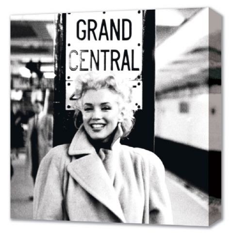 Grand Central Station - Marilyn Monroe Canvas