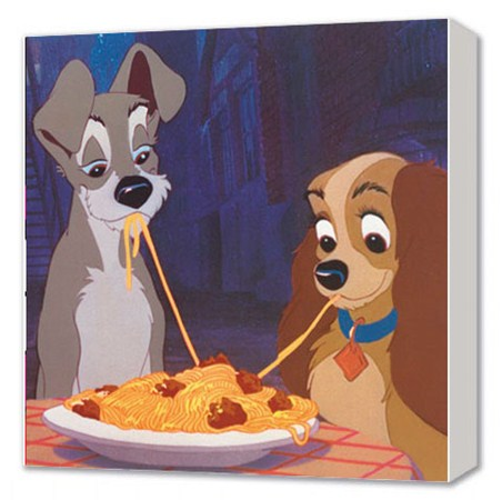 Walt Disney's Lady and the Tramp - Lady and the Tramp - Disney Canvas