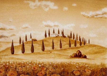 Idylle 3, Tuscany - Andre Martin