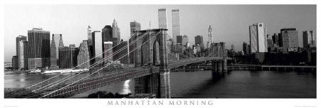 Manhattan Morning, New York City - New York City Collection