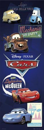 Lightning McQueen and Friends - Disney and Pixar - Cars the Movie